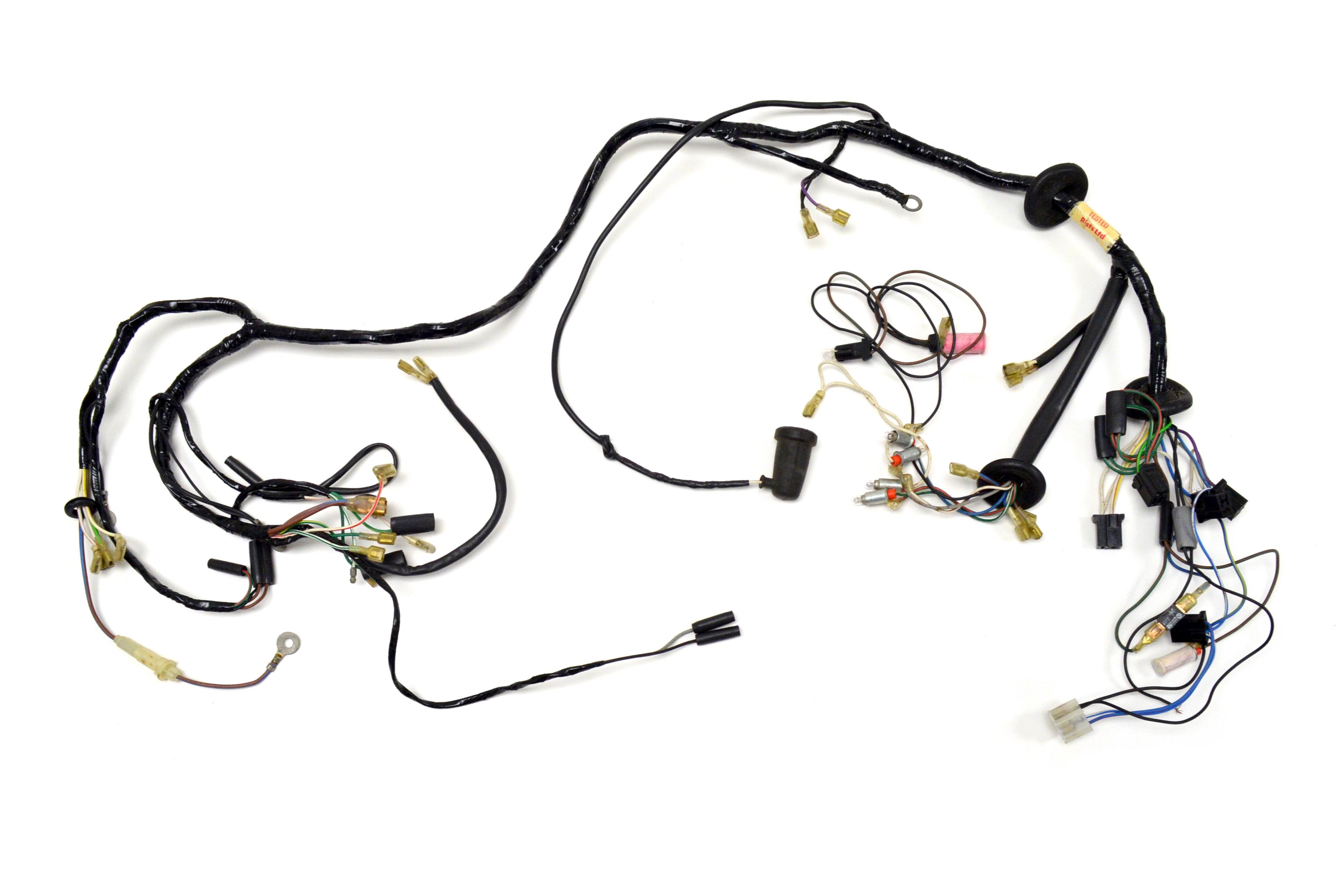 Triumph 82 T140 Tsx Factory Genuine Lucas Wiring Harness 60