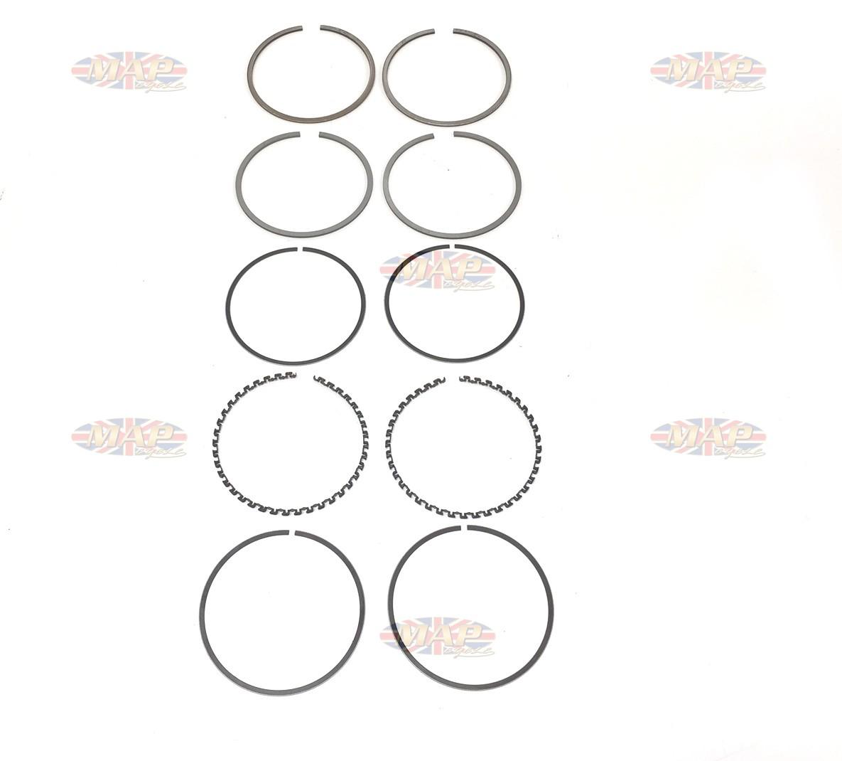 Triumph Morgo 750 Big Bore Kit Ring Set 060