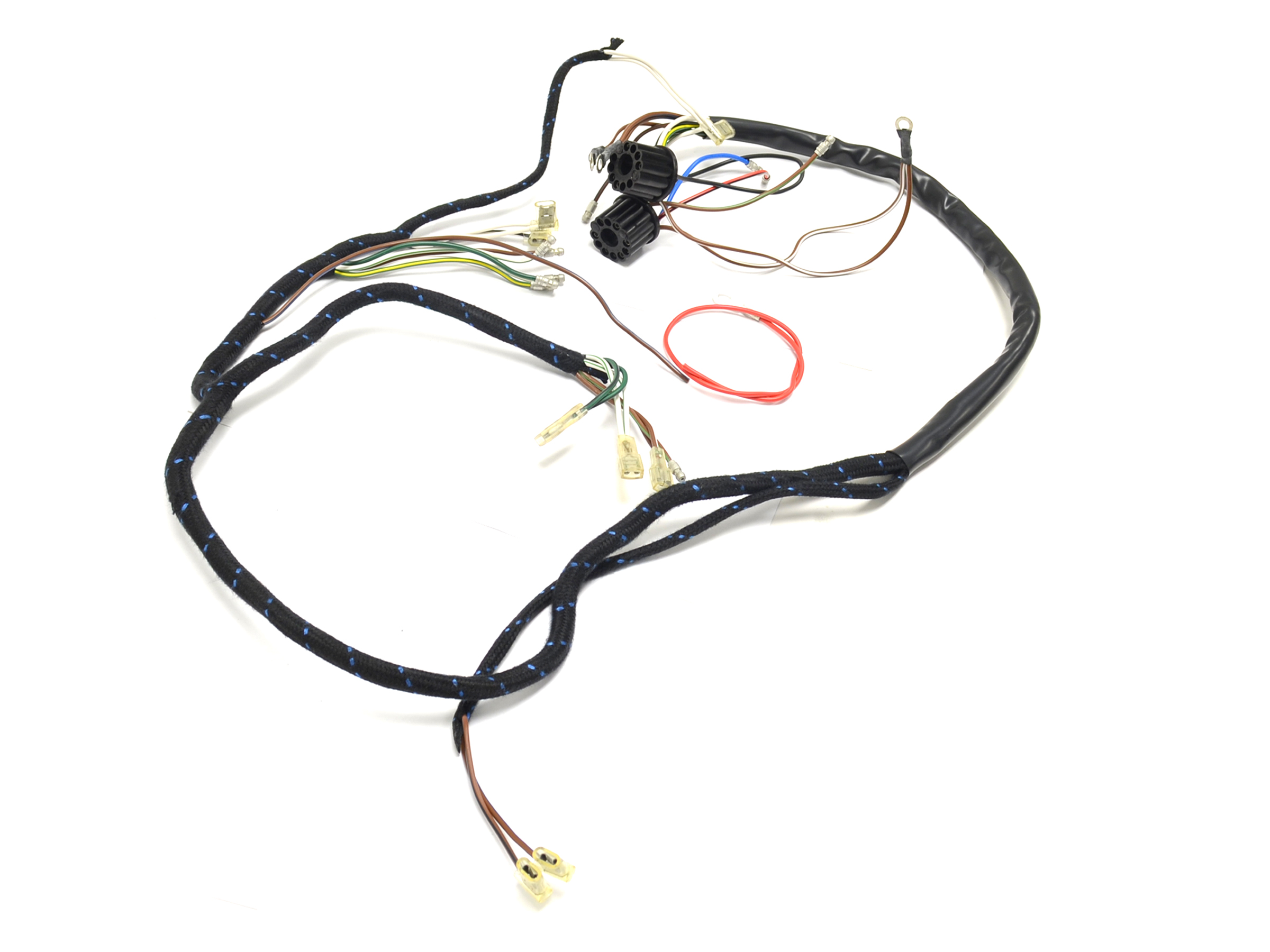 Bsa 65 A65 English Made 6 Volt Wiring Harness H014