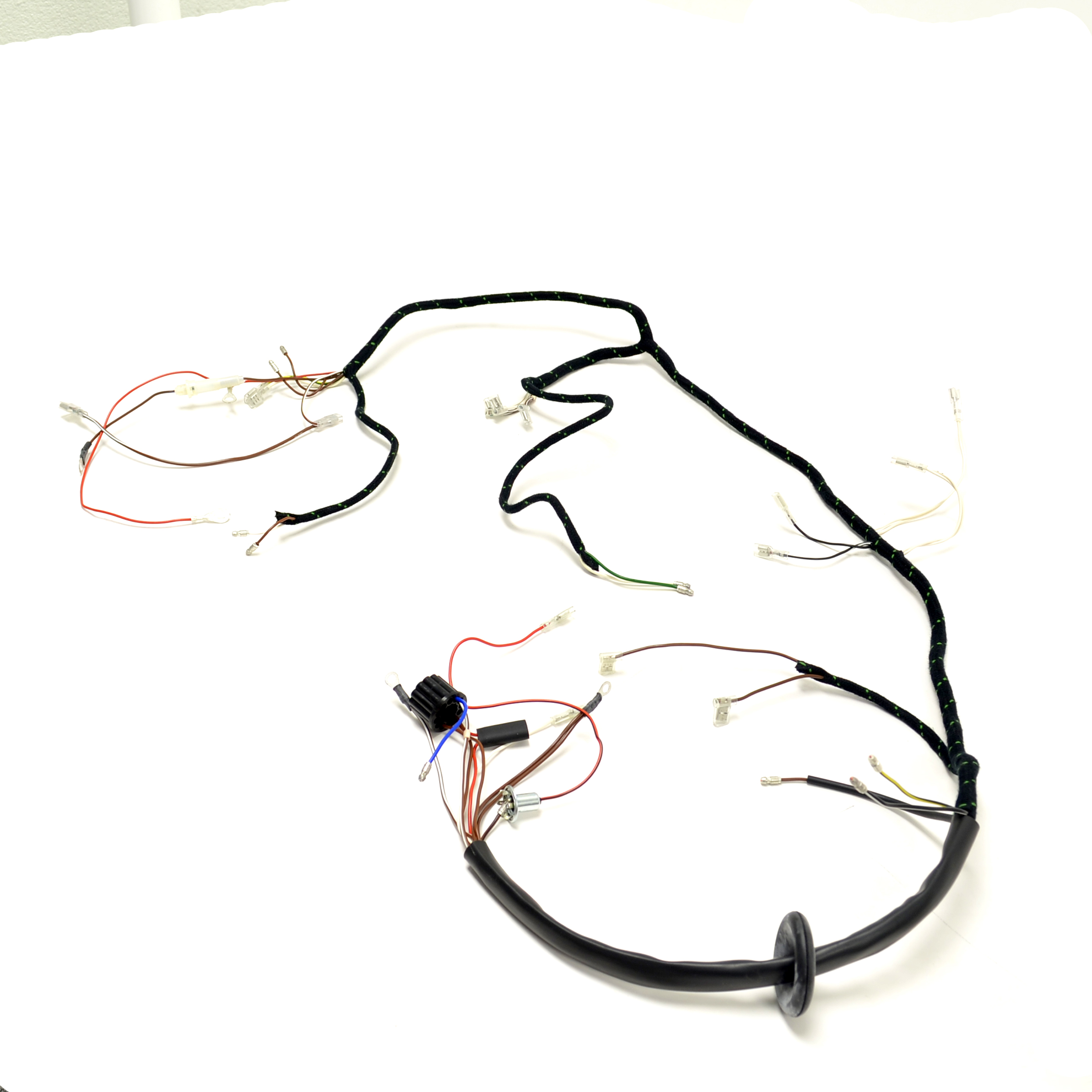 Triumph T90 T100 T120 Tr6 Uk Made Quality Wiring