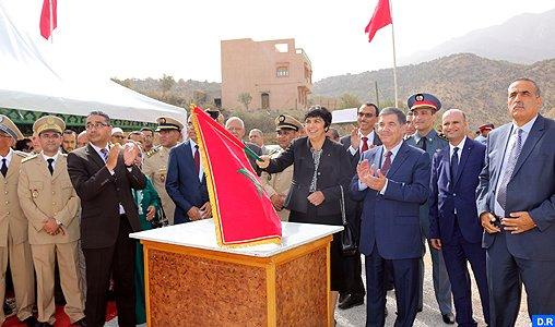 Inauguration et lancement de plusieurs projets de développement dans la préfecture d'Agadir-Ida Outanane à l'occasion de la Fête du Trône