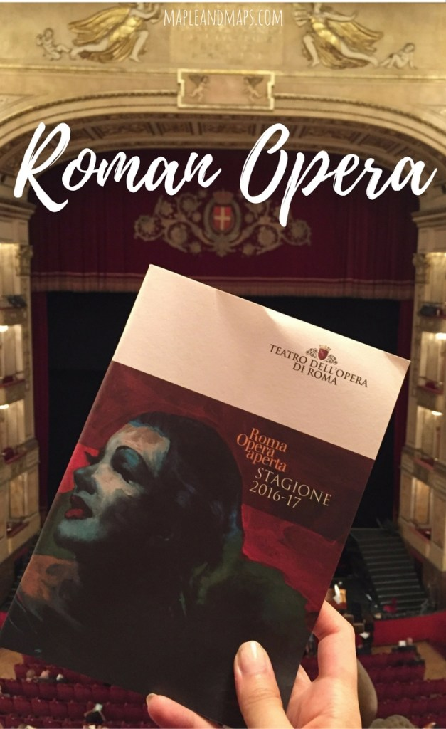 Attending the Opera in Rome