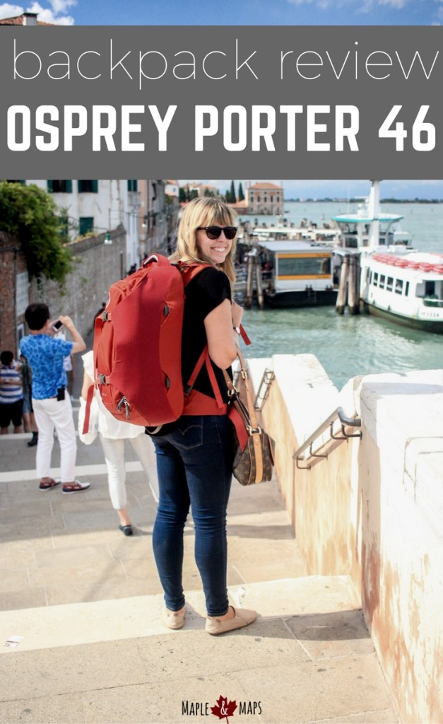 Backpack Review: Osprey Porter 46L