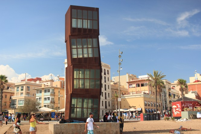 Tower at Barceloneta Beach
