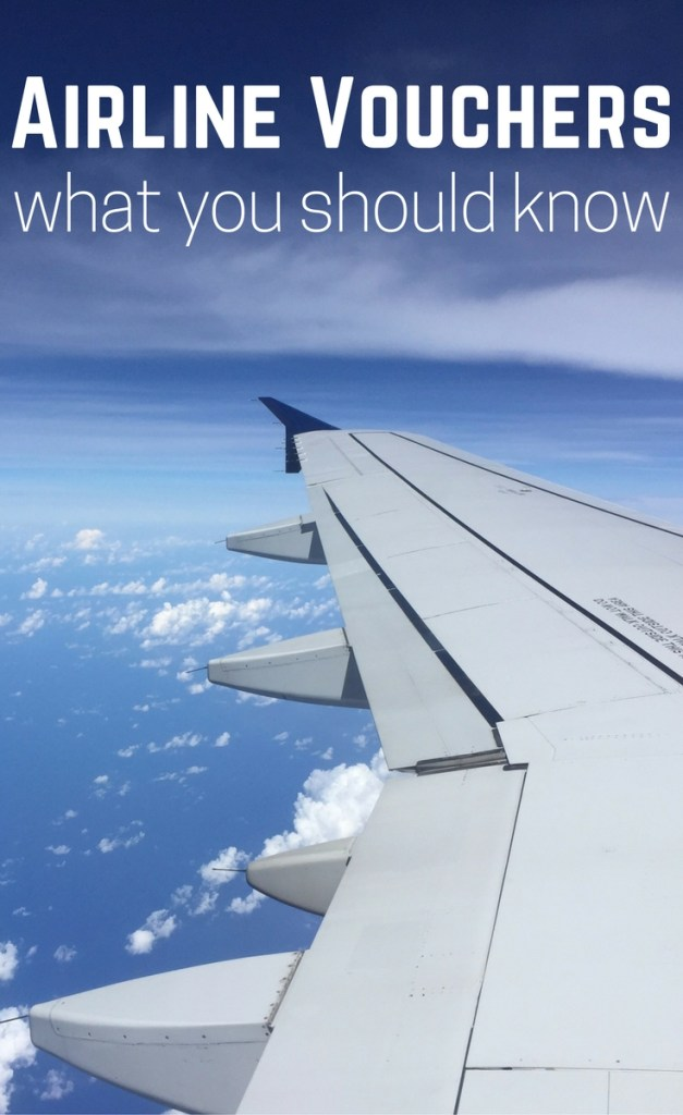 What to Know Before Accepting an Airline Voucher