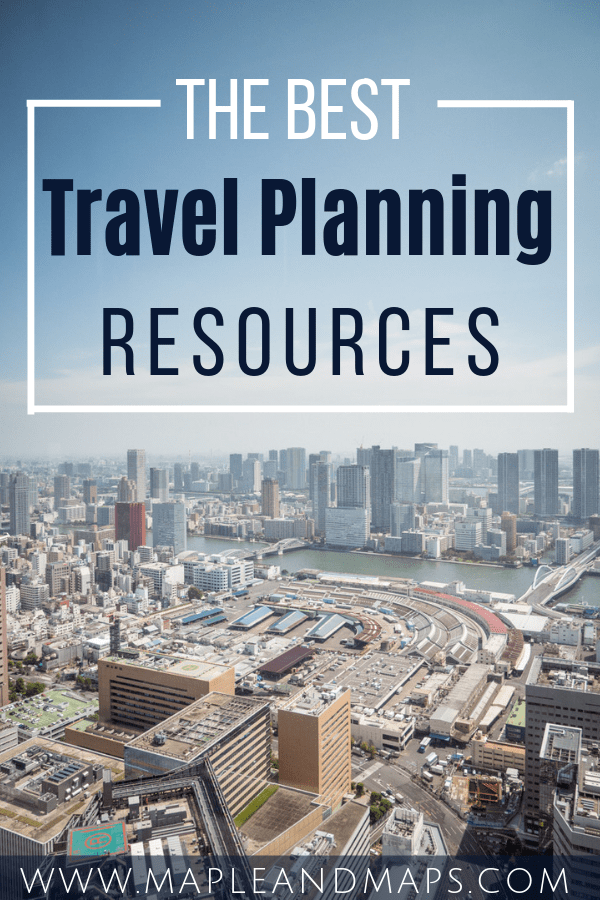 The Best Travel Planning Resources