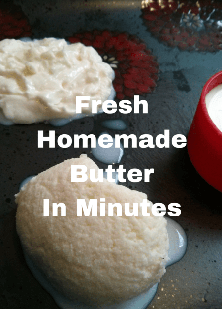 Fresh Homemade Butter In Minutes | Kids Activities | Combining Science and Cooking