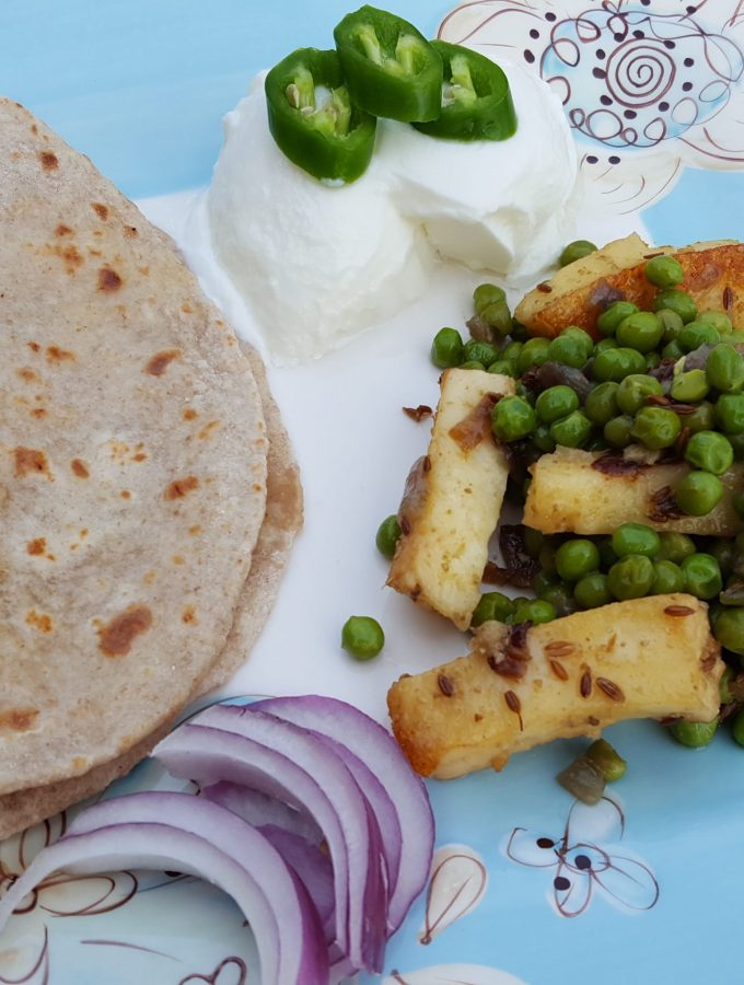 Indian inspired green peasrecipe Vegetarian Sides and Mains | Meatless Mondays |