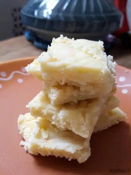 3 ingredient Easy Indian Dessert } Ricotta Burfi | Ricotta fudge with almonds | Gluten-free | Vegetarian