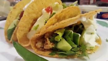 Mexican Chicken Taco Recipe – Arriba!