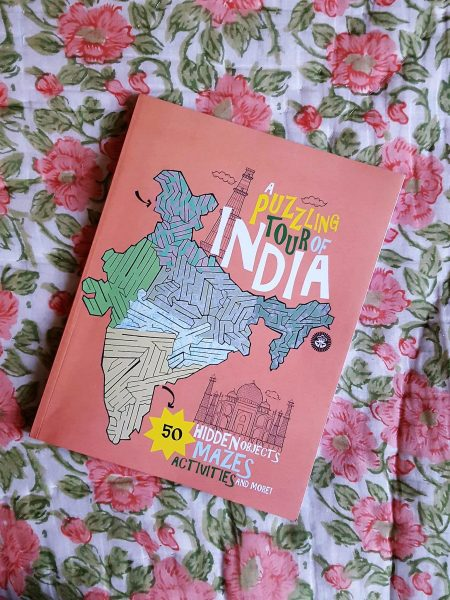 A Puzzling Tour Of India - Book Review | Summer Reading | Multicultural Kids | MapleandMarigold.com