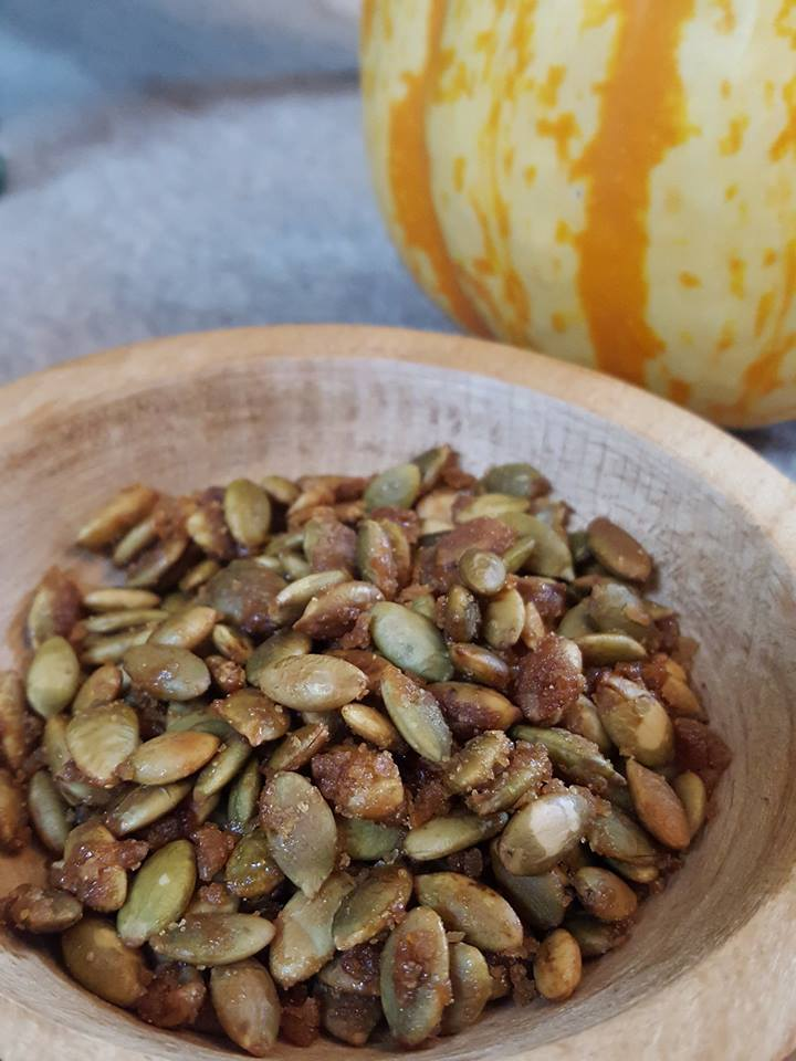 Simple (and Delicious!) Candied Pumpkin Seeds