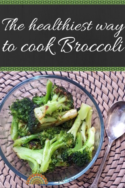 The healthiest way to cook broccoli | Kid friendly vegetables | Five a day | Half your plate | Maple and Marigold