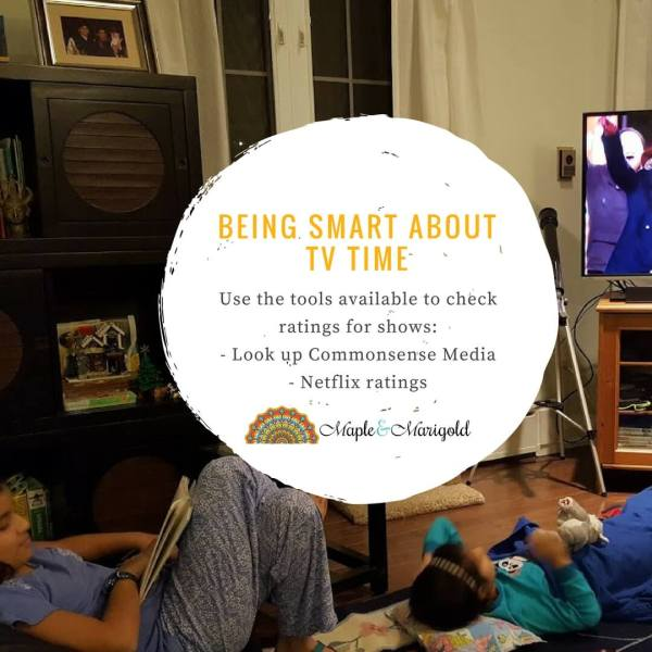 Summer TV Time | TV Viewing habits| Netflix giveaway | Maple and Marigold