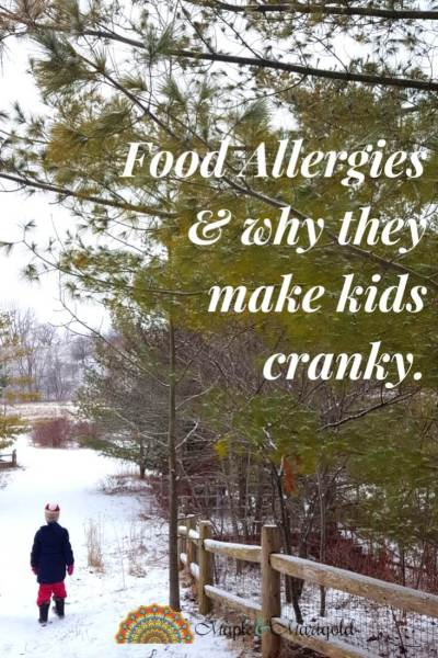 Food Allergies and Kids: Why your child may be cranky| Itchy Skin Treatment for Kids | Maple and Marigold