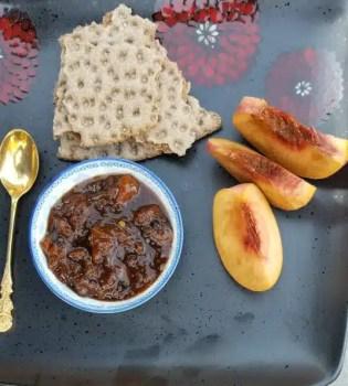 Easy-Peasy Peach Chutney