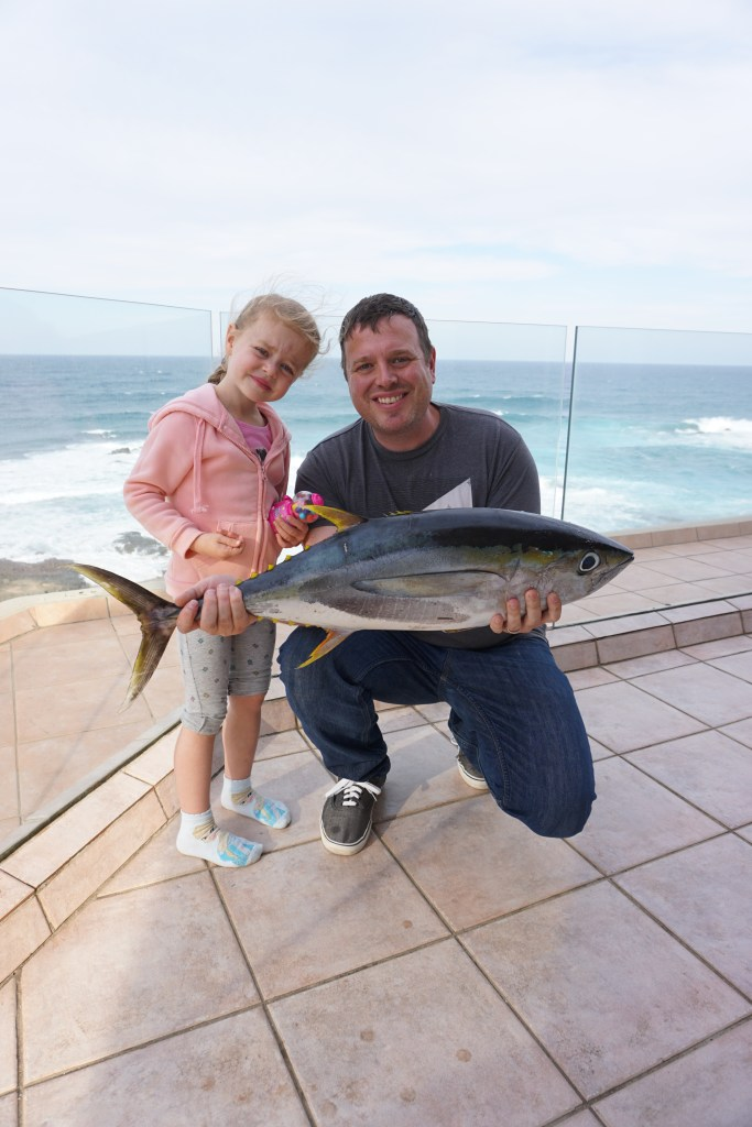 Deep sea fishing in Durban, South Africa