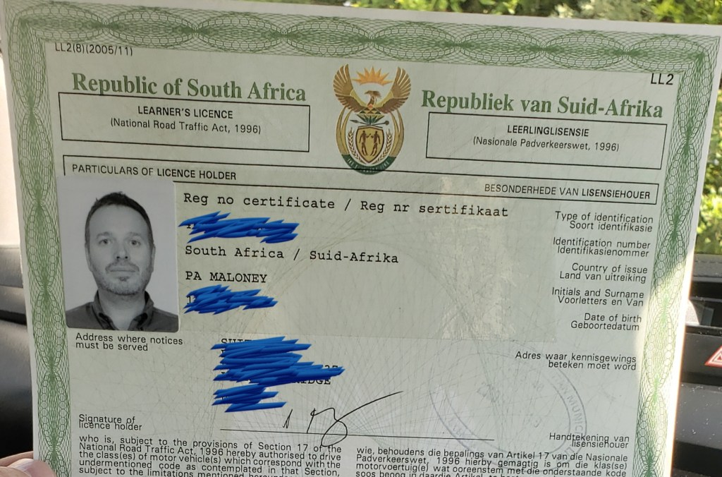 Learner's License South Africa