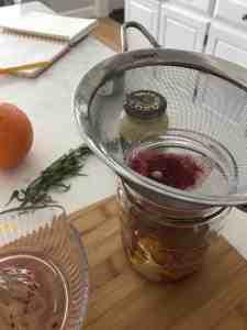 Blood Orange and Beet Salad with Hazelnut Citrus Vinaigrette