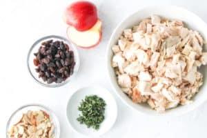 ingredients for chicken salad 2