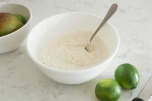 ingredients for coconut mango scones