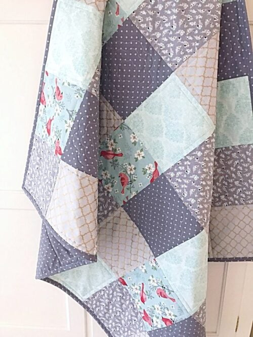 Skipping Stones Quilt Pattern & Lovey