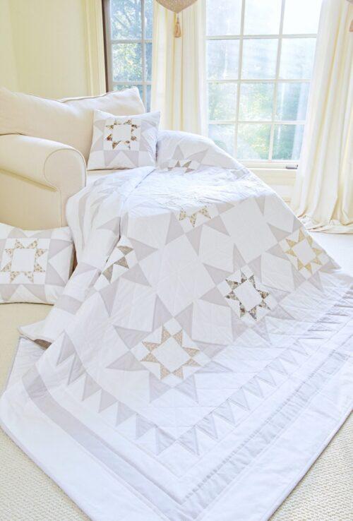 Captivating Stars Quilt & Pillow Pattern