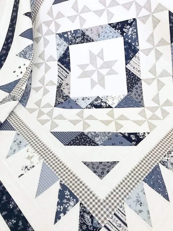 Let It Snow Quilt Pattern pic