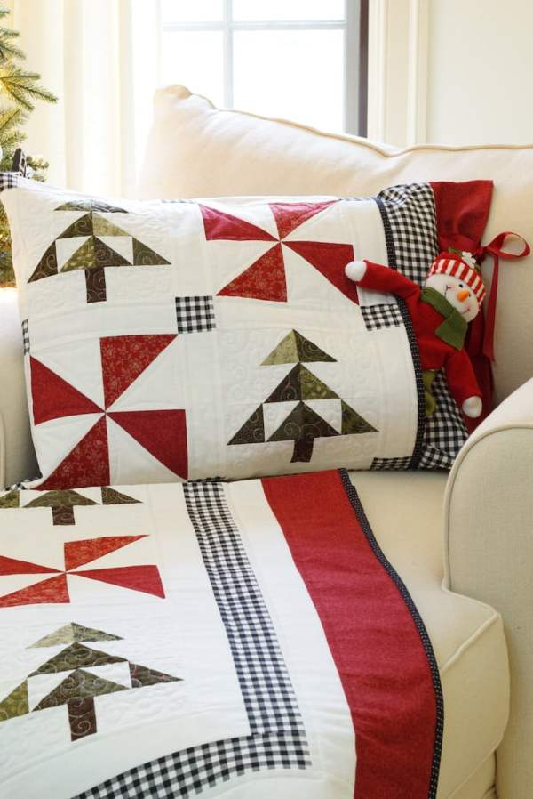 Evergreen Christmas Quilt Pattern pic