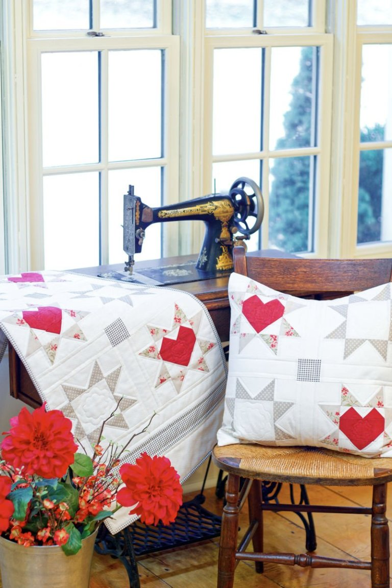 Love & Wishes Table Runner & Pillow Pattern