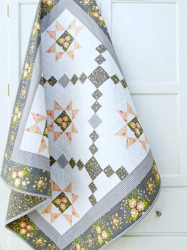 Star Gazer Delight Quilt Pattern pic