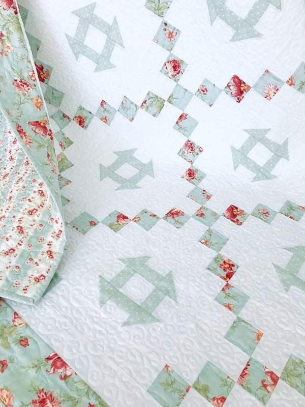 Tea Garden Quilt Pattern pic 1