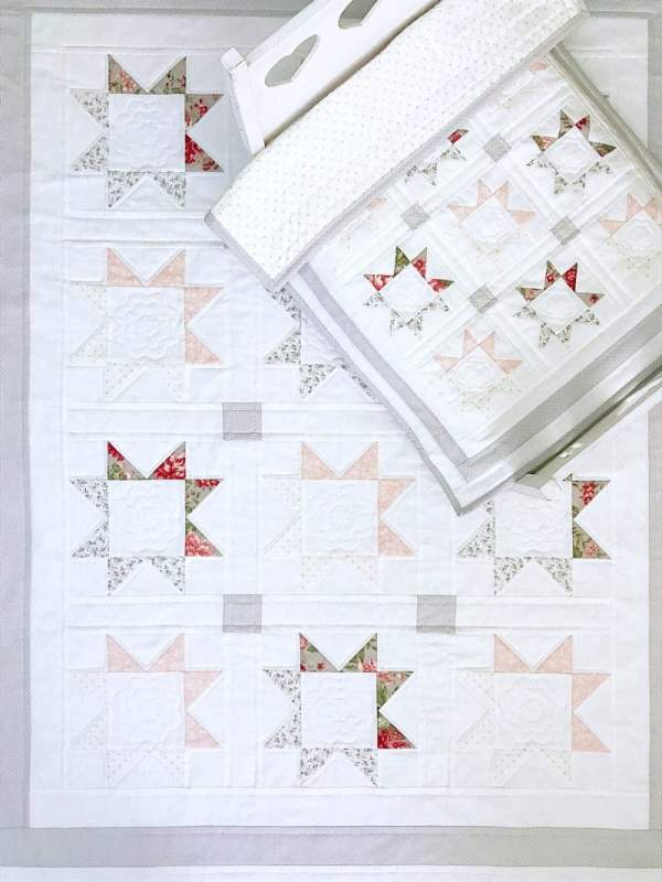 Darling Stars Quilt Pattern pic 1