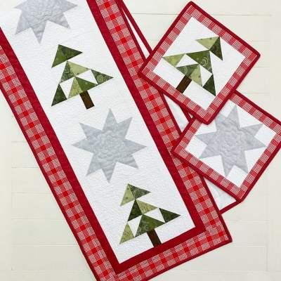 Christmastime Table Runner Pattern pic 1