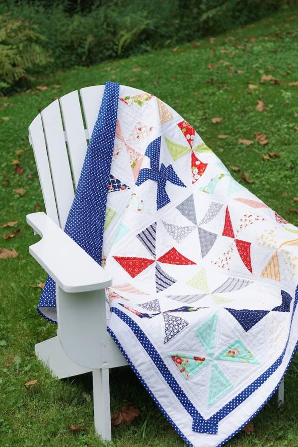 Pinwheels & Polka Dots Quilt Pattern pic 4