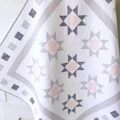 Diamond Stars Quilt Pattern pic 1