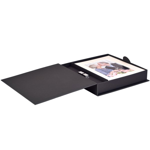 Bliss Classique print box with flash drive
