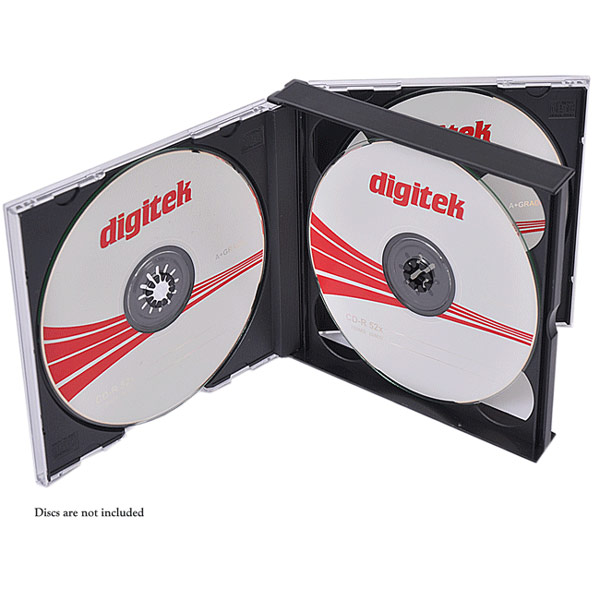 CD/DVD quad case