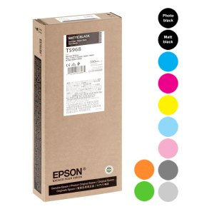 Epson Stylus PRO 7700/9700/7900/9900/7890/9890 350 ml Ink Cartridges