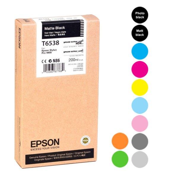 Epson Stylus PRO 4900 200 ml Ink Cartridges