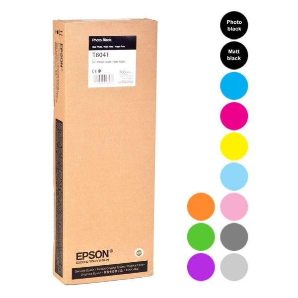 Epson Cartridges SC-P series 700ml