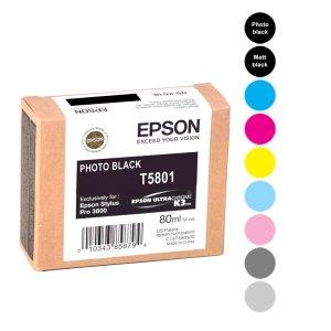 Epson Cartridges Pro3800