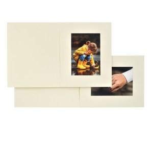 Rhapsody ivory photo folders