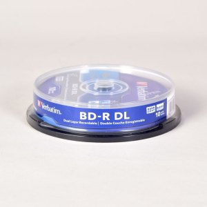 Verbatim BLUE RAY 6x DUAL LAYER BD-R DL DISCS