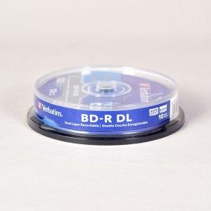 Verbatim BLUE RAY 6x DUAL LAYER BD-R DL DISCS