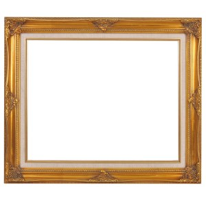 Swept frame 626 gold