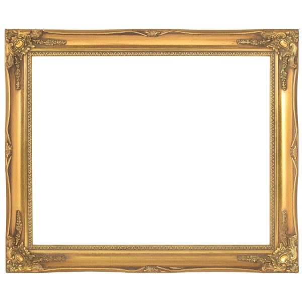 Swept frame 818 gold
