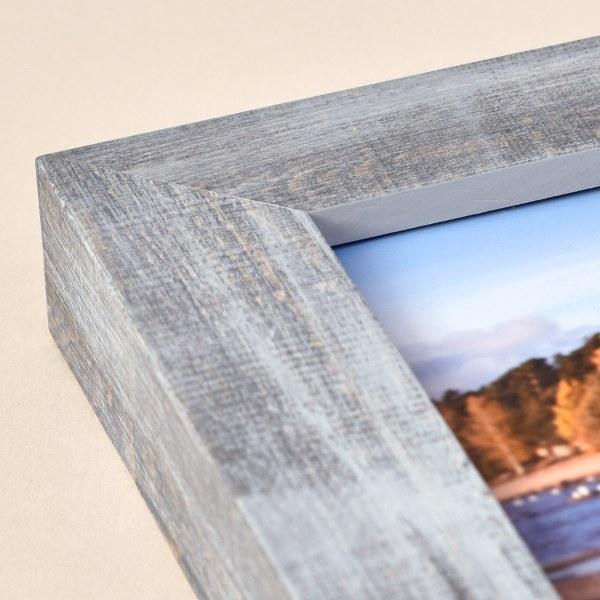 Francesca grey wood frame corner