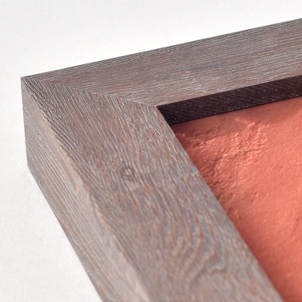 Francesca mid wood frame corner