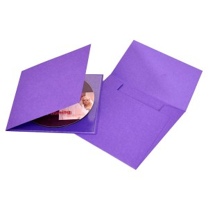 Purple Single CD-DVD Folio
